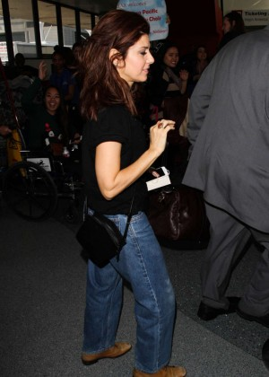 Marisa Tomei at LAX Airport in Los Angeles