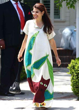 Marisa Tomei - Attends at Eva Longoria's baby shower in LA