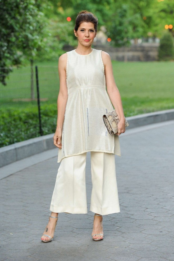 Marisa Tomei - Calvin Klein Collection Celebrates of 'Creative Time's Drifting in Daylight Art in Central Park' in NY