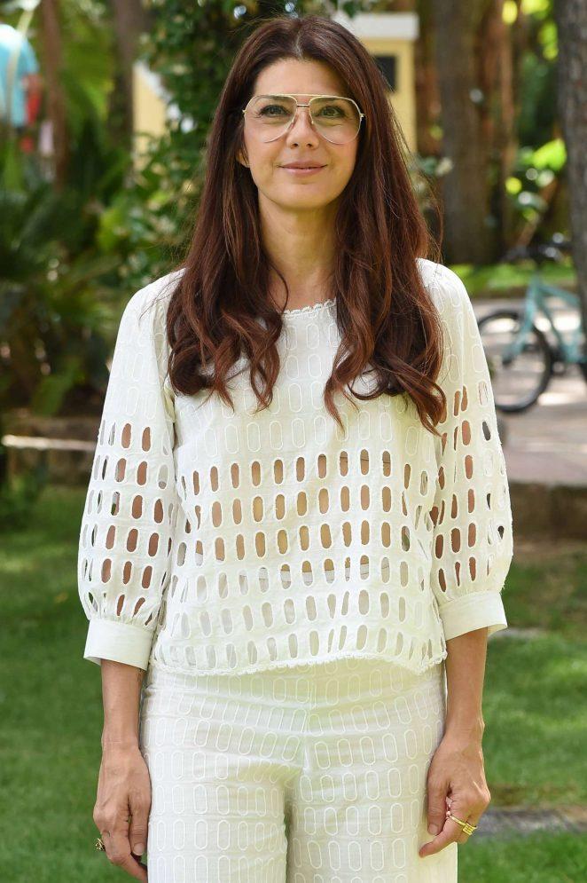 Marisa Tomei - Filming Italy Sardegna Festival in Pula