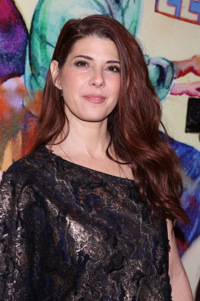 Marisa Tomei - How To Transcend A Happy Marriage opening night party in NY