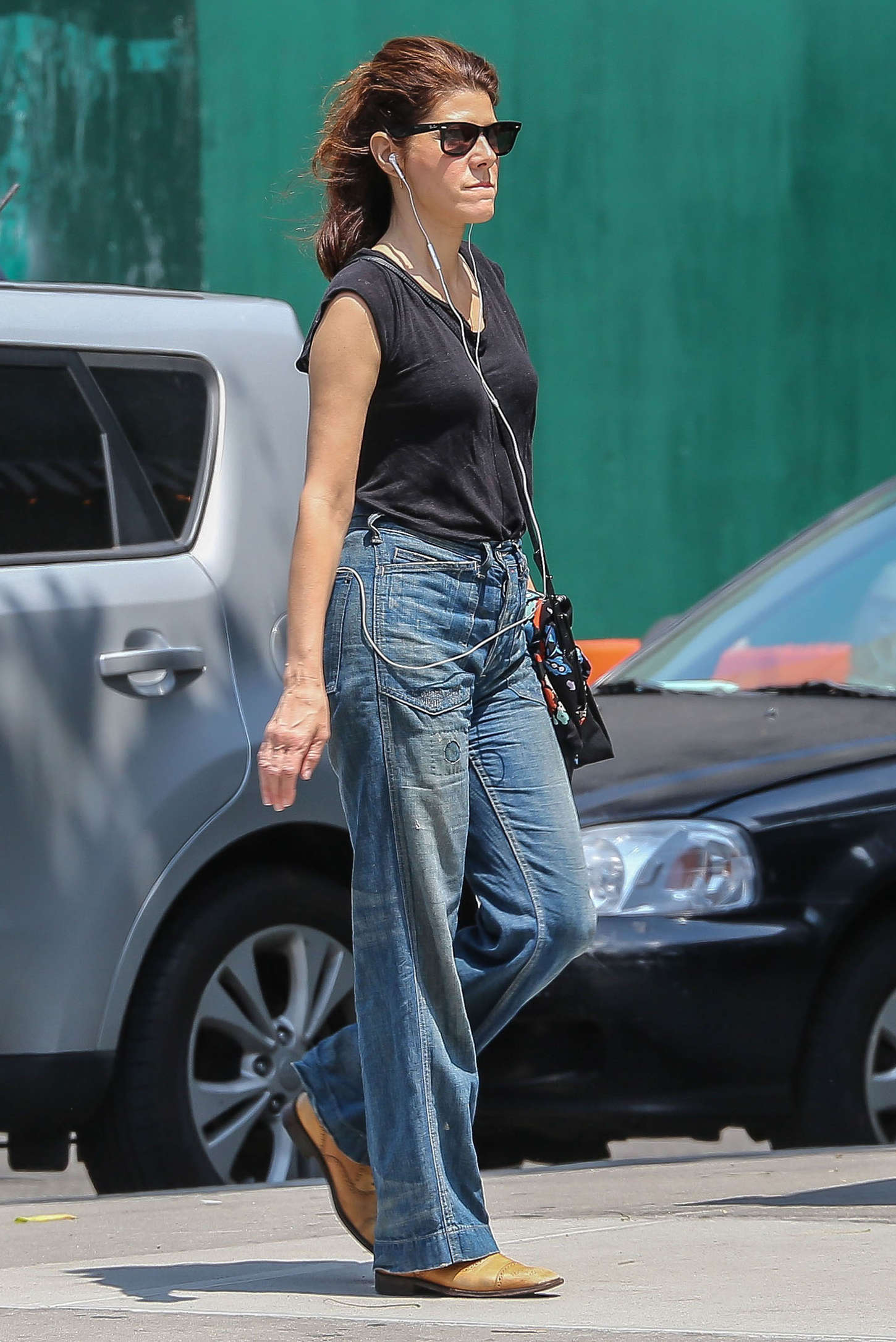 Marisa Tomei In Jeans Out And About In Nyc Gotceleb