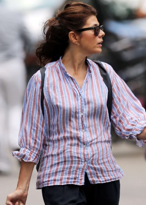 Marisa Tomei - Out and about in NYC