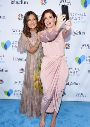 Mariska Hargitay and Debra Messing - 2017 Joyful Revolution Gala in NY