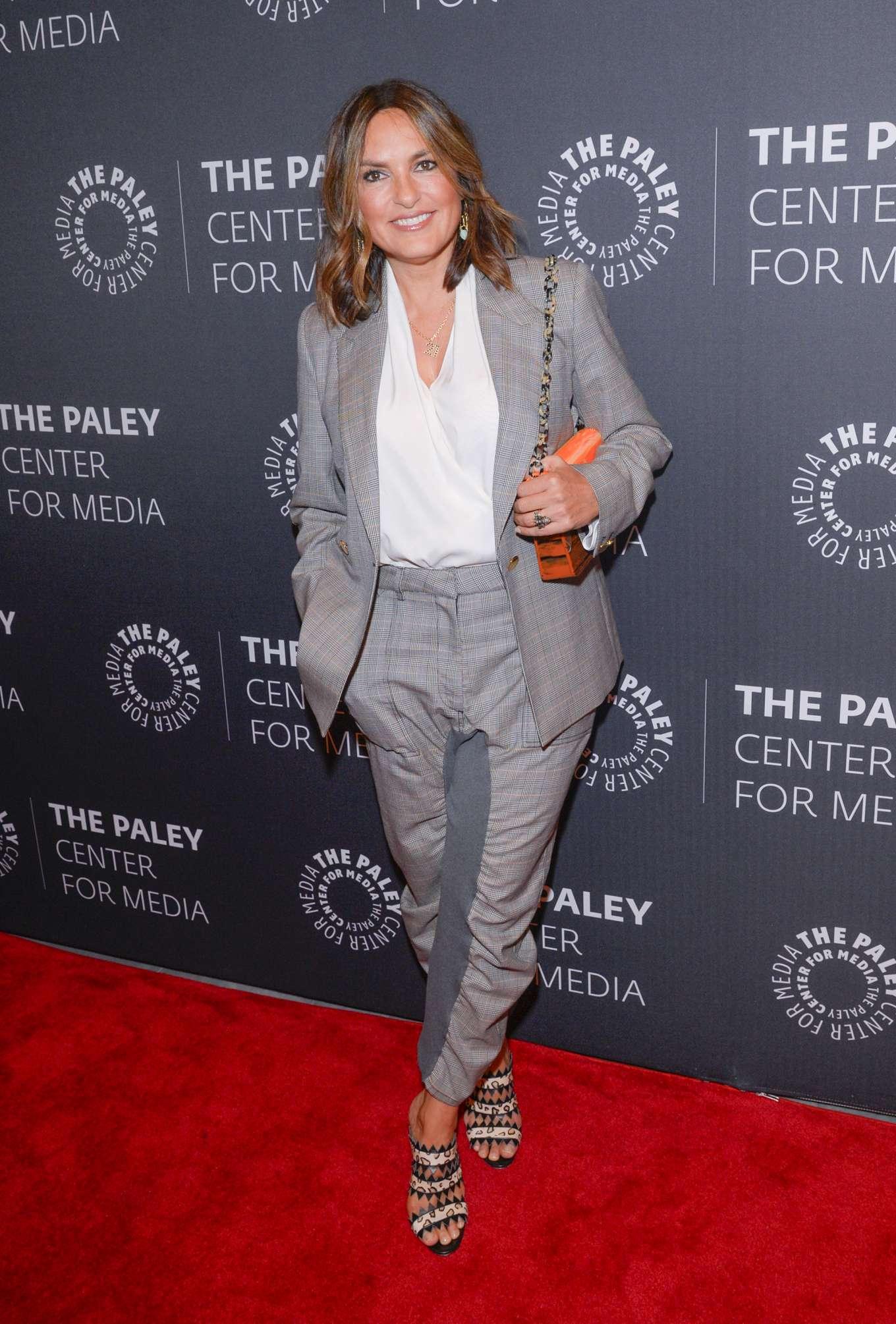 Mariska Hargitay - 'Law and Order: SVU' Celebrates its 21st Season in NY