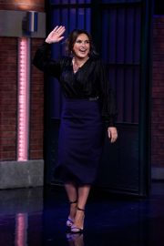 Mariska Hargitay - On 'Late Night with Seth Meyers' in New York City