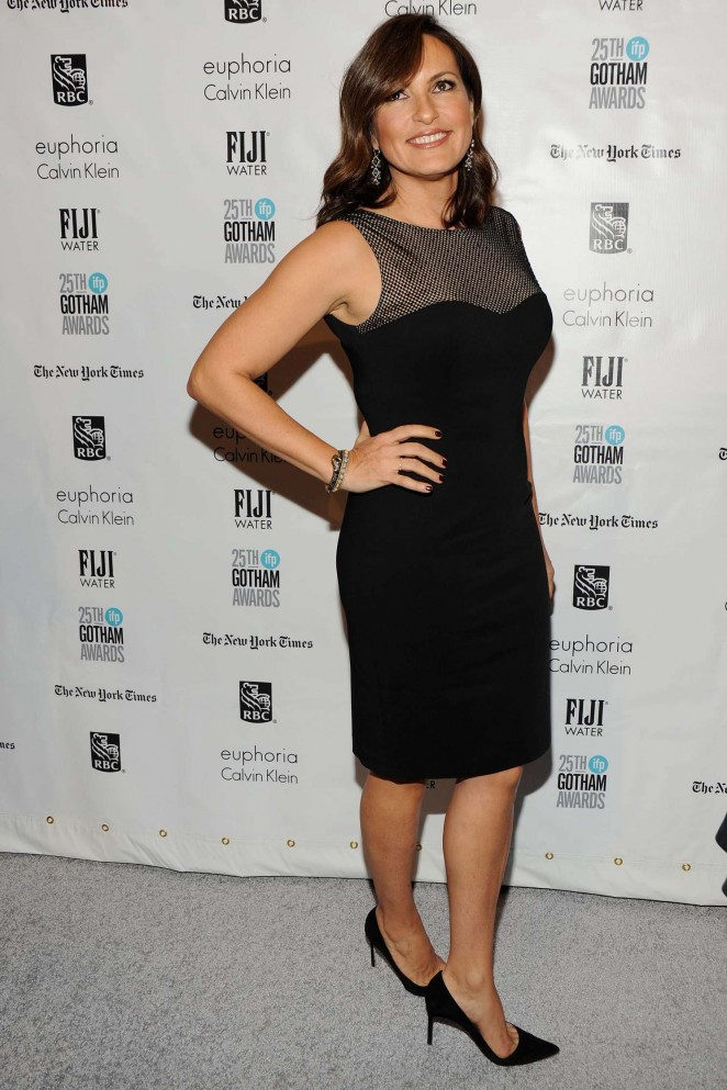 Mariska Hargitay - The 25th IFP Gotham Independent Film Awards in NY
