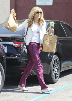 Marla Maples at DWTS Practice in Hollywood