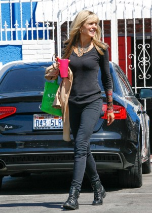Marla Maples at DWTS Rehearsals Studios in Hollywood
