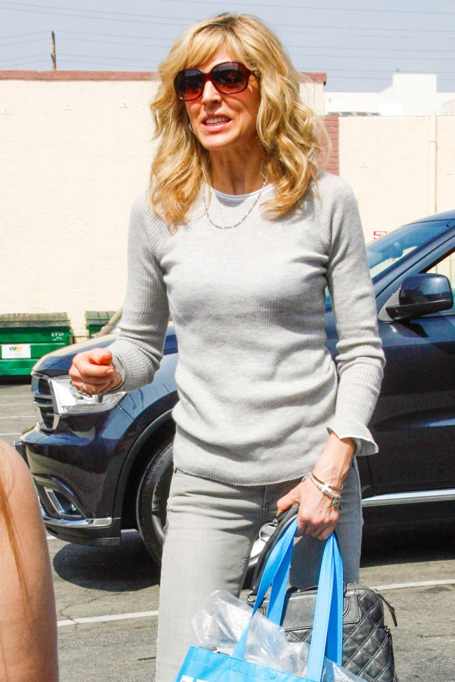Marla Maples at DWTS Studio in Hollywood
