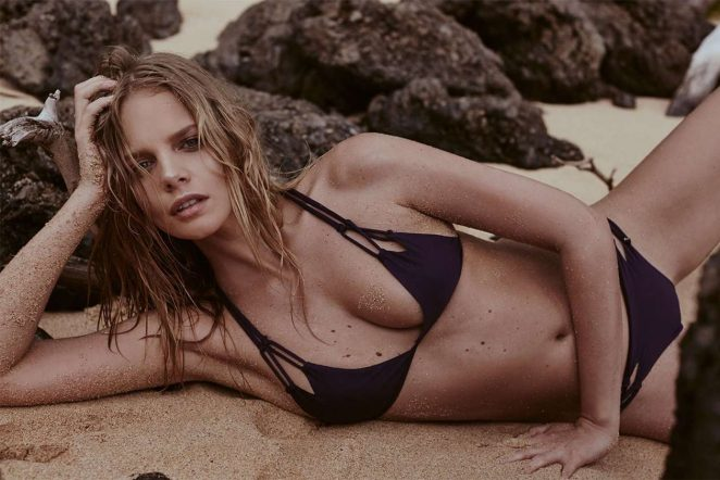 Marloes Horst by Zoey Grossman Acacia Swimwear 2017