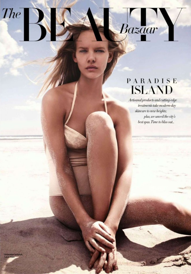 Marloes Horst - Harper's Bazaar Singapore Magazine (February 2015)