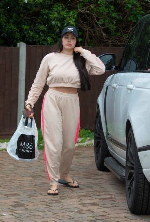Marnie Simpson - Arriving home in Bedfordshire