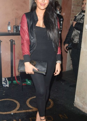 Marnie Simpson at Billie Faiers' in The Style Launch Party in London