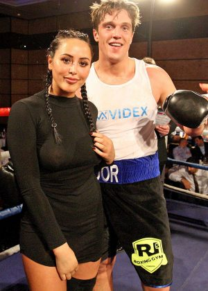 Marnie Simpson - Boxing with the Stars in London