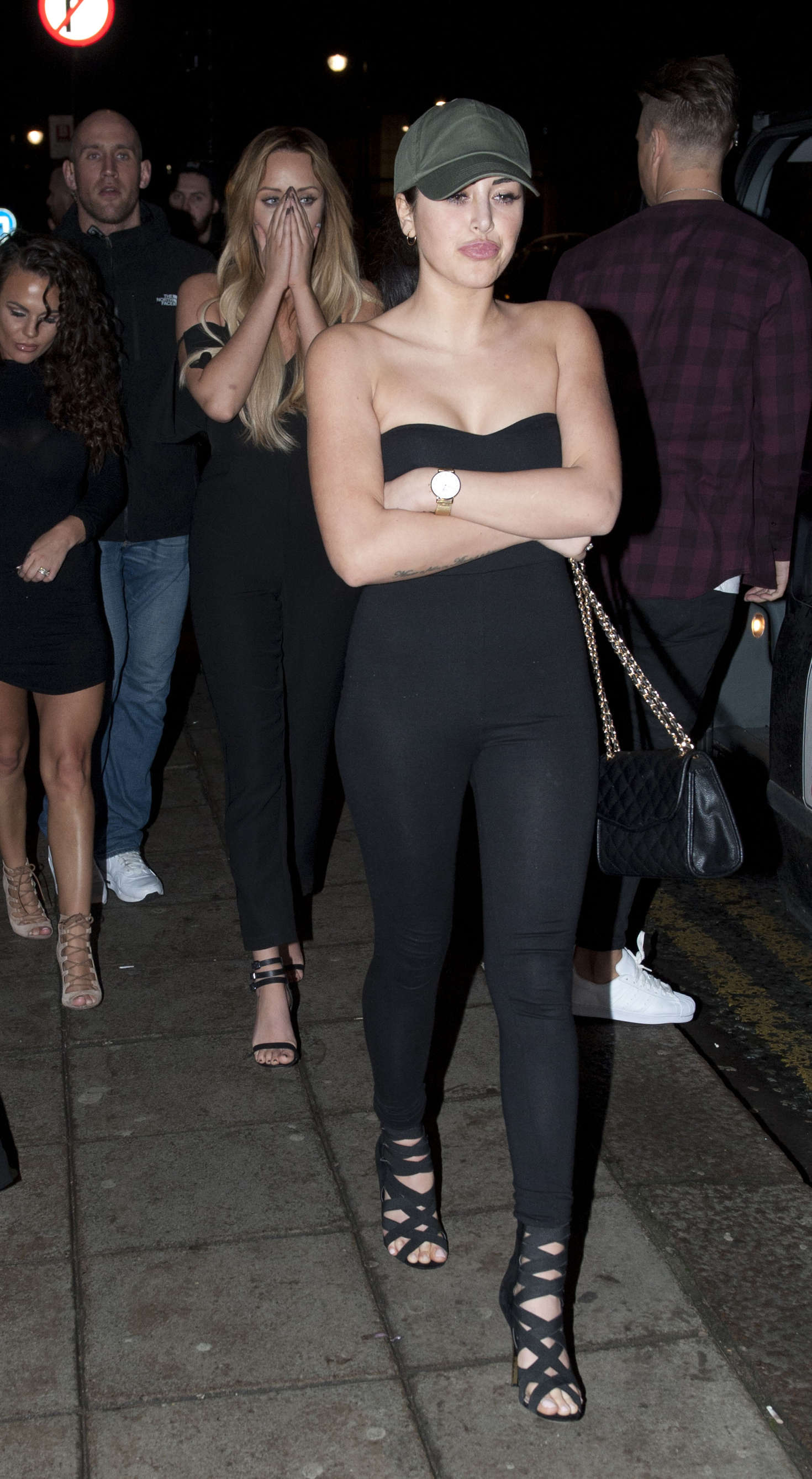 Marnie Simpson Night out at Bijoux Bar in Newcastle