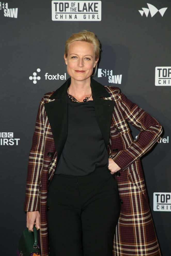 Marta Dusseldorp - 'Top of the Lake: China Girl' Premiere in Sydney