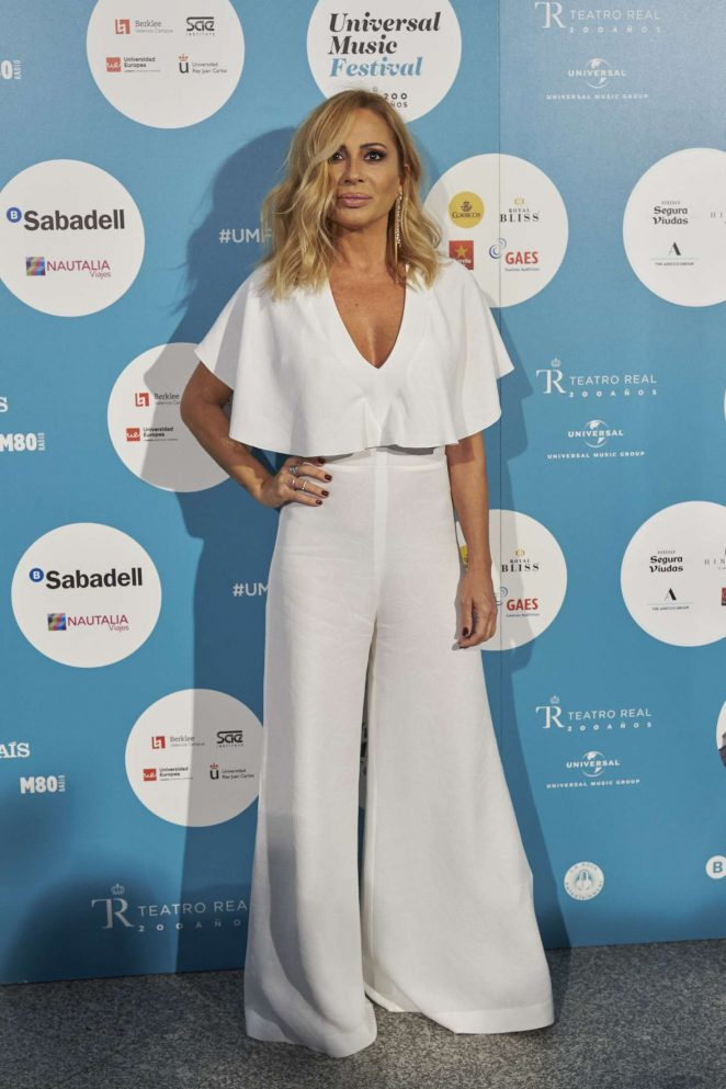 Marta Sanchez - Universal Music Festival 2017 in Madrid