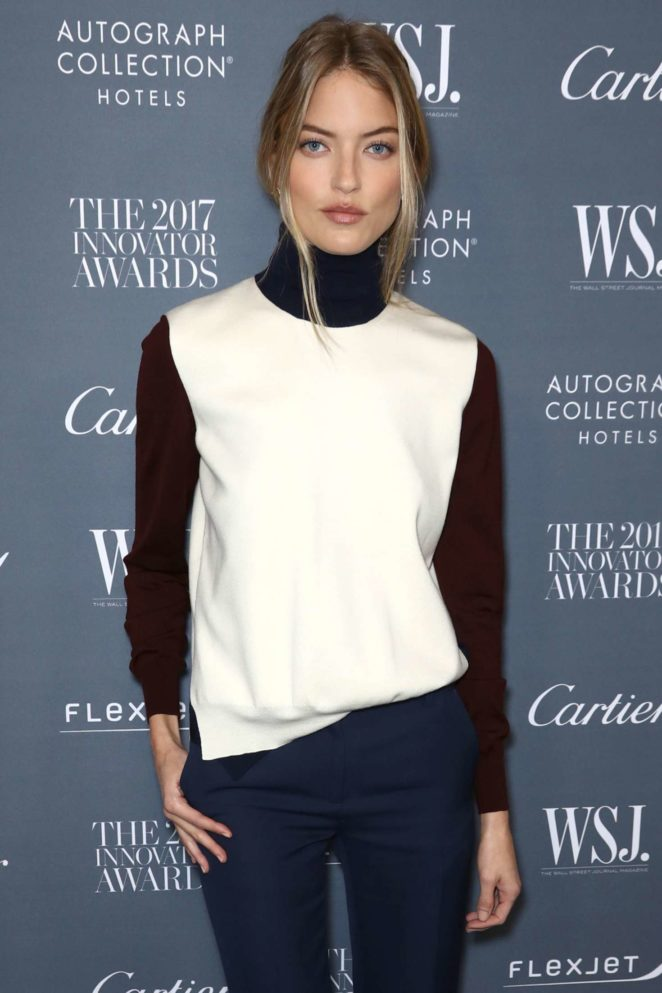 Martha Hunt - 2017 WSJ Innovator Awards in NYC