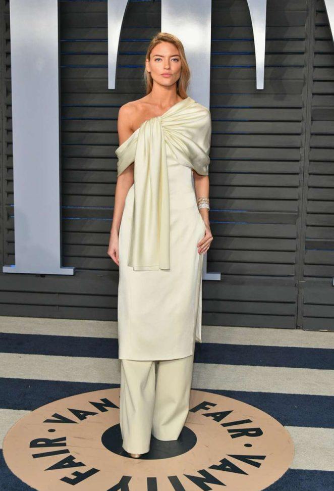 Martha Hunt - 2018 Vanity Fair Oscar Party in Hollywood