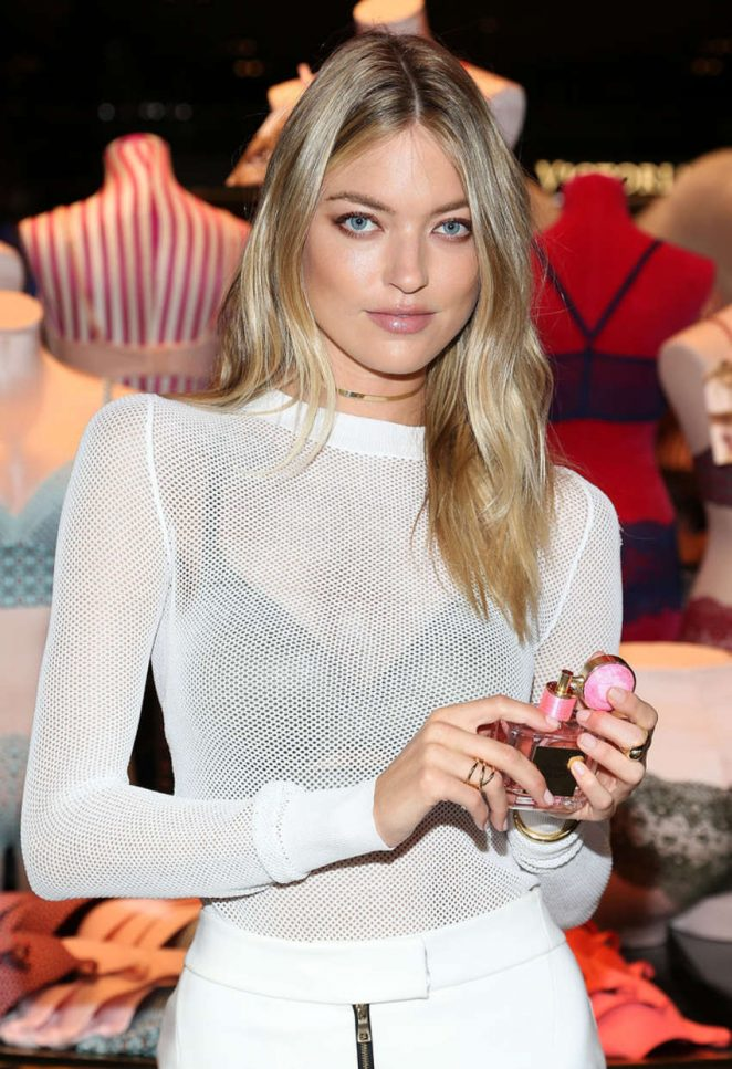 Martha Hunt - All-New Easy Collection from Body By Victoria Launch in Washington