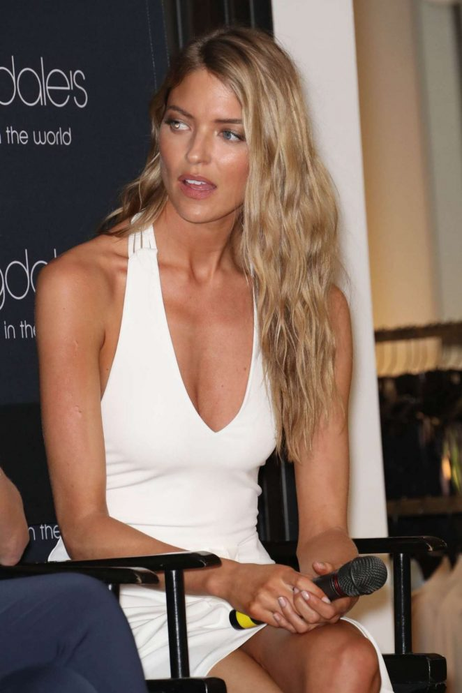 Martha Hunt and Ramy Brook - Sharp Collection Launch in New York