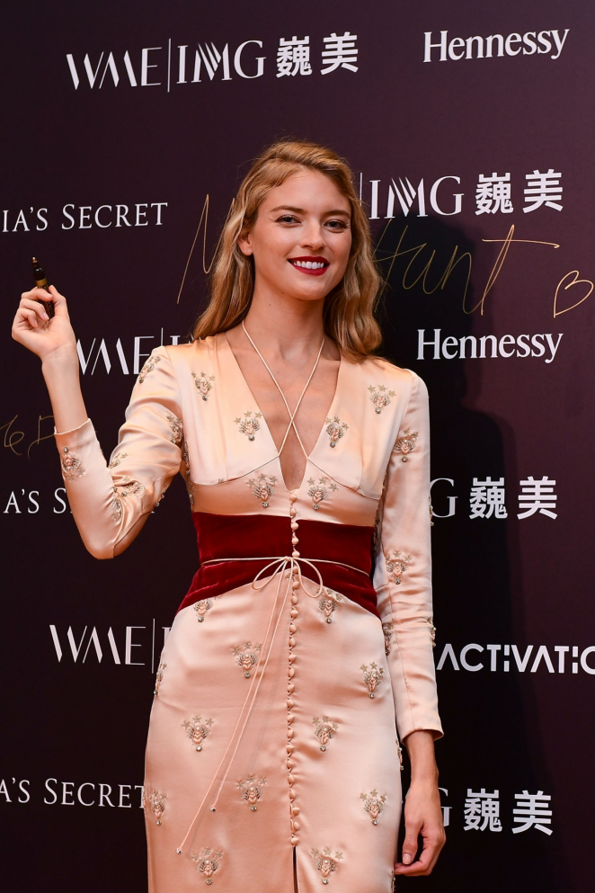 Martha Hunt - Backstage Secrets By Russell James Beijing Exhibit Opening Party in Beijing