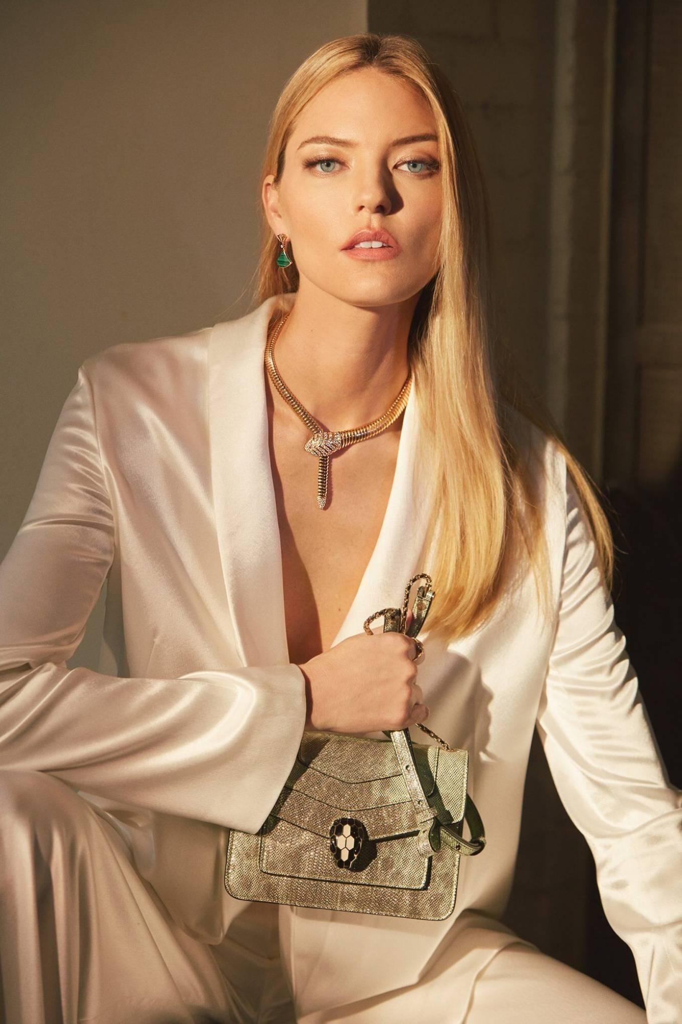 Martha Hunt - Bulgari's newest Ambassador photoshoot (August 2020)
