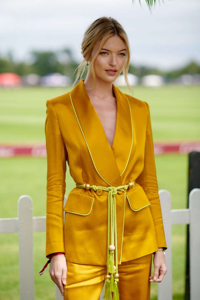 Martha Hunt – Cartier Queens Cup Polo in Windsor