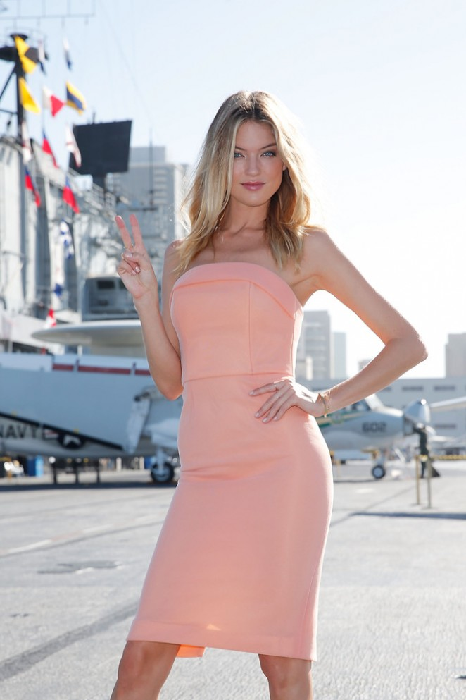 Martha Hunt – Celebrating the 2015 What Is Sexy? List in San Diego