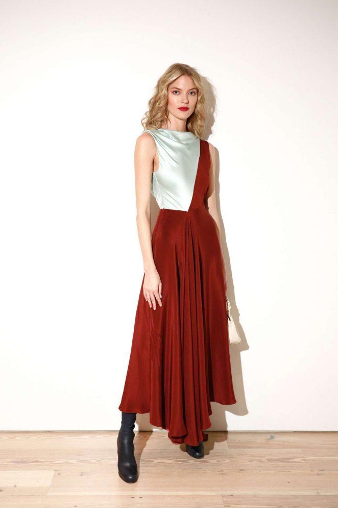 Martha Hunt: CFDA Vogue Fashion Fund Design Challenge -02 – GotCeleb