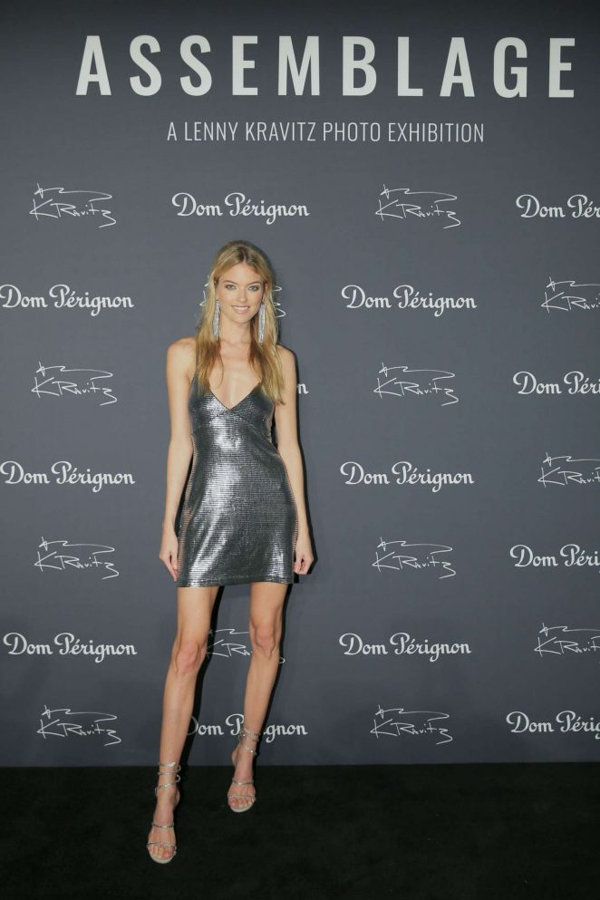 Martha Hunt – Dom Perignon and Lenny Kravitz: 'Assemblage' Exhibition in NY