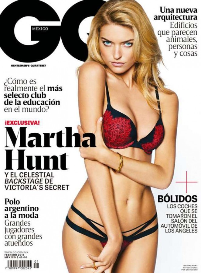 Martha Hunt - GQ Mexico Cover (February 2015)