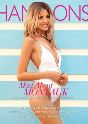 Martha Hunt - Hamptons Magazine #7 2015