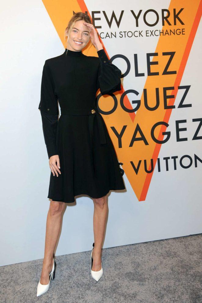 Martha Hunt: Louis Vuitton Volez, Voguez, Voyagez Exhibition Opening -22