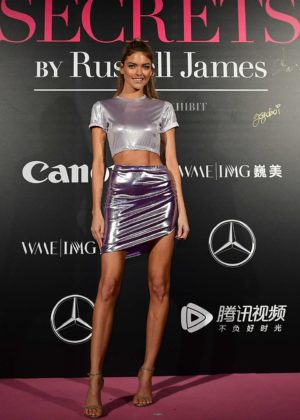 Martha Hunt - Mercedes-Benz 'Backstage Secrets' by Russell James in Shanghai
