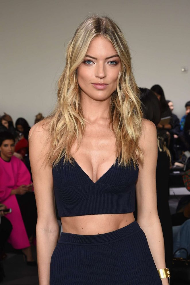 Martha Hunt: Michael Kors Show at 2017 NYFW -08