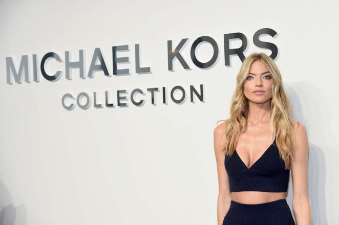 Martha Hunt: Michael Kors Show at 2017 NYFW -14