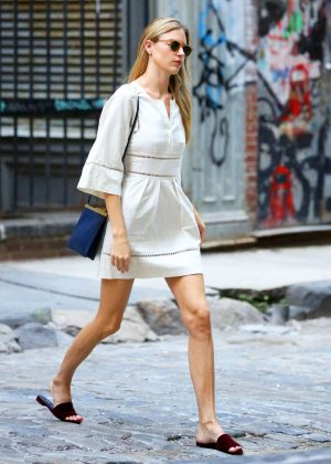 Martha Hunt out and about in NYC