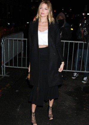 Martha Hunt out in Manhattan