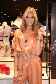 Martha Hunt - Possing at Victoria's Secret Celebrates New Fall Collection in Natick