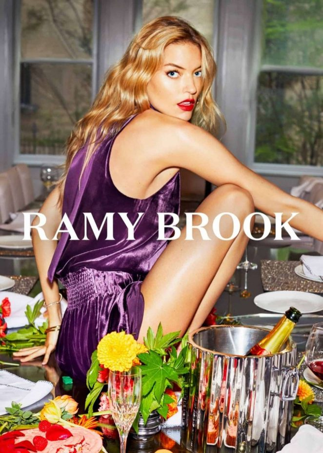 Martha Hunt - Ramy Brook 2018 Campaign