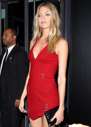 Martha Hunt - Samsung Party at 2016 New York Fashion Week in NY