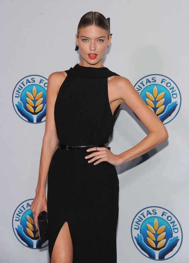 Martha Hunt - Unitas Gala against Sex Trafficking in NYC