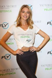 Martha Hunt - Victoria's Secret Angel Cycle To End Cancer in NYC