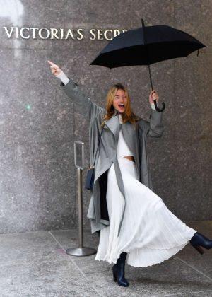 Martha Hunt - Victoria's Secret Fashion Show Fittings in NY