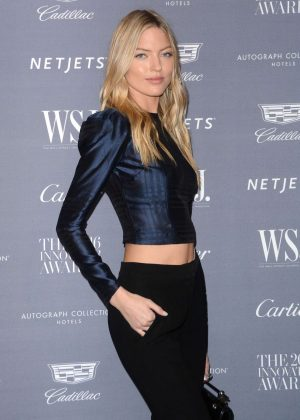 Martha Hunt - WSJ Innovator Awards 2016 in NYC