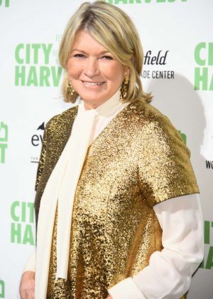 Martha Stewart - City Harvest's 23rd Annual Gala in NY