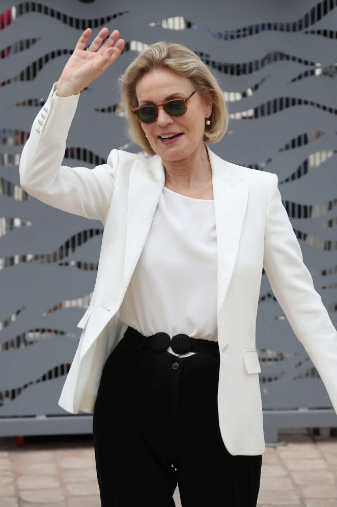 Marthe Keller - Arrives at 69th Cannes Film Festival