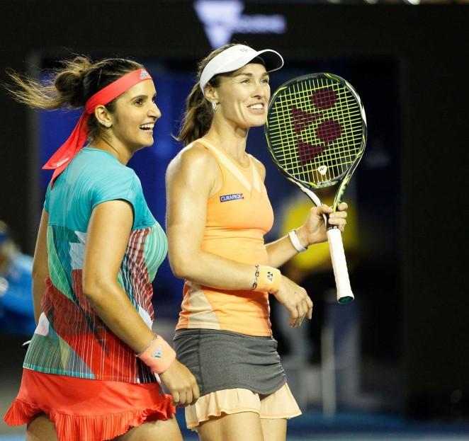 Martina Hingis and Sania Mirza – 2016 Australian Open Championships in Melbourne